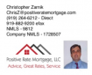 Positive Rate Mortgage, LLC Logo